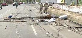 Chuvas causam estragos no bairro Marquês em Teresina