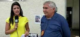 DEPRE prende acusado de tráfico de drogas em sua própria residência