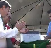 Governador Wellington Dias inaugura creche e escola em Altos