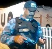 Arma de uso restrito é apreendida durante abordagem