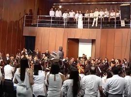 Campanha de fim de ano da MN é gravada no Palácio da Música