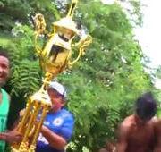 Jogadores do Parnahyba comemoram título
