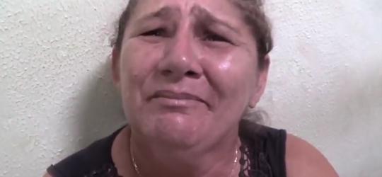 """Mãe de """"Pequeno"""", afirma que não apoia filho e que não escondeu arma do crime"""
