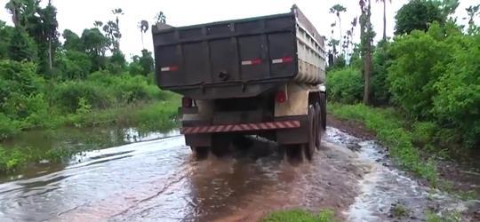 SEMAR-PI comprova interrupção de água de rio e multa prefeitura em R$ 100 mil