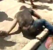 Jovem sofre tentativa de linchamento e é salvo pela polícia