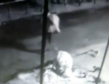 Imagens de câmera de segurança registram ação de quadrilha
