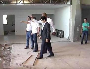 Representantes do Sistema Rodoviário visitam obras do Terminal em Teresina