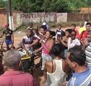 População faz protestos no Parque Jair em São Luís-MA