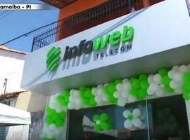Info Web Telecom inaugura loja em Parnaíba