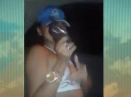 Mulher grava vídeo para ameaçar gangues rivais