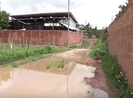 Moradores sofrem com a falta de escoamento das chuvas no Residencial Vinicius de Moraes