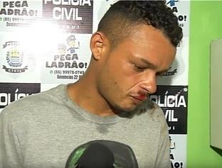 """""""Carlos Daniel"""" é preso acusado de assaltar funcionários de campanha política em Teresina"""