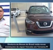 Diretoria da Nissan do Brasil visita novas instalações da Japan Veículos em Teresina