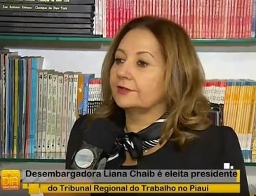 Desembargadora Liana Chaib fala sobre desafios na gestão do TRT-PI