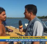 Novas Fronteiras:  prática de kitesurf cresce no Delta do Parnaíba-PI