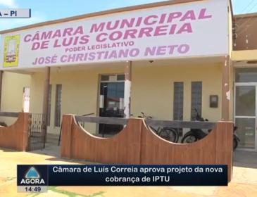 Câmara de Luís Correia aprova projeto da nova cobrança de IPTU