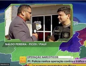 Polícia realiza operação contra o tráfico de drogas e cumpre mandados em Picos