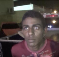 Sobrinho tenta se esconder dentro da casa de tia, mas é denunciado e preso pela Polícia
