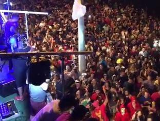 Avine Vinny arrasta multidão na 1º noite de Carnaval Euphoria 2018