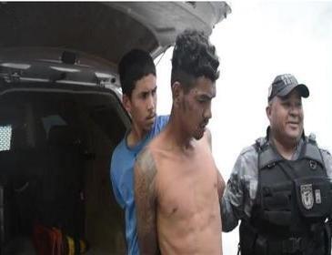 Acusado de dois homicídios é preso pela Força Tática, em Parnaíba
