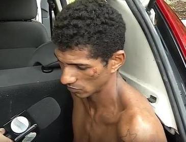 Perseguição termina com suspeito de arrombar escritório preso