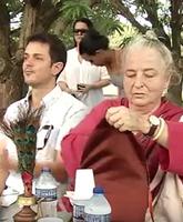 Mestra Lama Lena ensina como obter mente tranquila hoje em Teresina