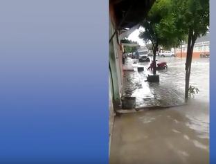 Temporal causa transtornos e provoca alagamentos em São Luís-MA