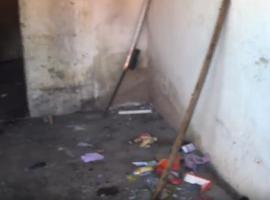 Casa abandonada serve como Cracolândia para usuários de drogas