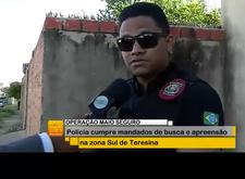 Maio Seguro: Polícia cumpre mandados de busca e prisão em Teresina