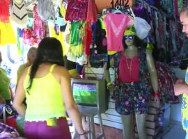 Correspondente MN mostra em Parnaíba-PI expectativa da torcida durante jogo do Brasil