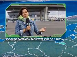 Diretamente do Estádio São Petersburgo, Socorro Sampaio fala sobre a expectativa de Brasil e Costa Rica