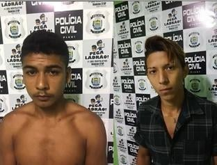 Dois homens são presos acusados de recrutar menores para furtos em sítios