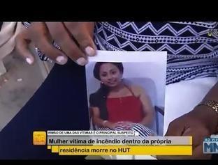 Mulher vítima de incêndio dentro da própria residência morre no HUT