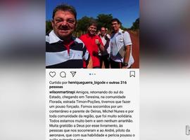 Avião com Wilson Martins e Rodrigo Martins faz pouso forçado no Maranhão