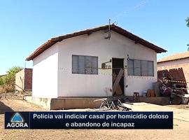 Polícia vai indicar casal por homicídio doloso e abandono de incapaz