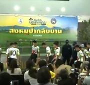 Esporte Show: detalhes sobre a alta dos meninos e treinador presos em caverna na Tailândia