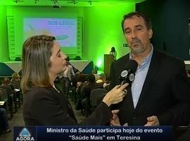 """Ministro da Saúde participa hoje do evento """"Saúde Mais"""" em Teresina"""