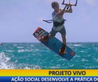 Quadro Novas Fronteiras: ação social desenvolve a prática do kitesurf no litoral do PI