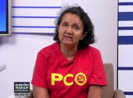 Pinga Fogo Eleições: Sabatina com Lourdes Melo, candidato ao Governo pelo PCO