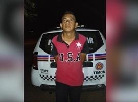 Foragido da justiça é preso após denuncias em Timon-MA