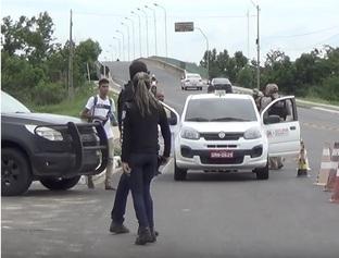 Polícia realiza operação contra criminalidade nos bairros mais violentos de Teresina
