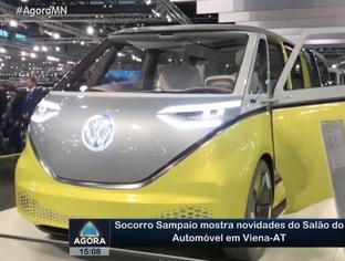Socorro Sampaio mostra novidades do Salão do Automóvel em Viena