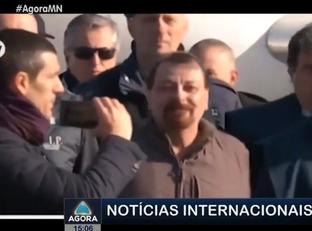 Após 37 anos foragido, Cesare Battisti é preso em penitenciária em Roma