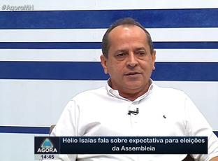 Hélio Isaias fala sobre expectativa para eleições da Assembleia