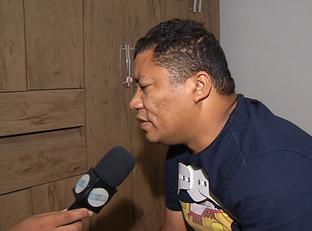 Repórter Kilson Dione relata momentos do acidente