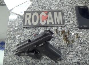 Homem é preso acusado de porte ilegal de arma de fogo em Timon