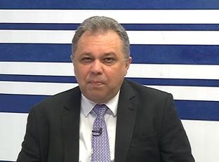 Entrevista com o secretario estadual de saúde Florentino Neto