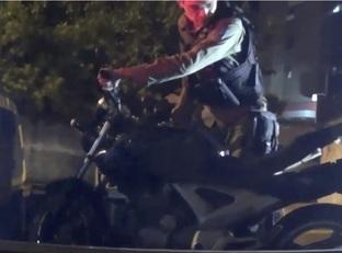 Polícia apreende moto após perseguir suspeitos de assaltos em Teresina