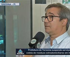 Prefeitura de Teresina suspende serviço de coleta de resíduos extradomiciliares em março