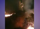 Incêndio assusta e ameaça monumento da padroeira do Piauí em Oeiras